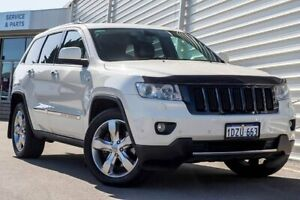 2012 Jeep Grand Cherokee WK MY2012 Limited White 5 Speed Sports Automatic Wagon Osborne Park Stirling Area Preview