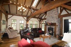 Country Home Gem on 100 acres near Kitchener by Auction