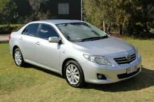 2008 Toyota Corolla ZRE152R Ultima Silver 4 Speed Automatic Sedan Ormeau Gold Coast North Preview