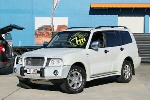 2006 Mitsubishi Pajero NP MY06 VR-X White 5 Speed Sports Automatic Wagon Greenslopes Brisbane South West Preview