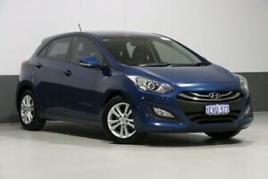 2015 Hyundai i30 GD MY14 SE Blue 6 Speed Automatic Hatchback Bentley Canning Area Preview