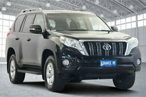2016 Toyota Landcruiser Prado GDJ150R GXL Black 6 Speed Sports Automatic Wagon Victoria Park Victoria Park Area Preview