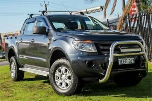 2013 Ford Ranger PX XL Double Cab Blue 6 Speed Manual Utility Wangara Wanneroo Area Preview