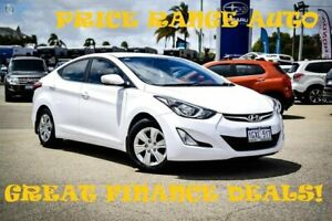 2014 Hyundai Elantra MD3 Active White 6 Speed Sports Automatic Sedan Greenfields Mandurah Area Preview