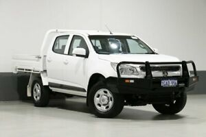 2016 Holden Colorado RG MY16 LS (4x2) White 6 Speed Automatic Crew Cab Pickup Bentley Canning Area Preview