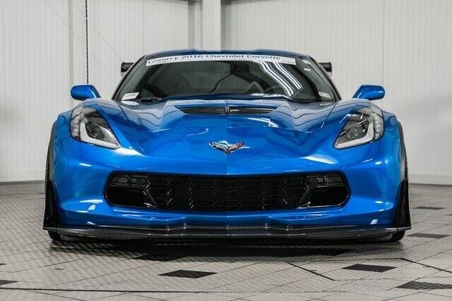 2016 Blue Chevrolet Corvette Z06  | C7 Corvette Photo 2