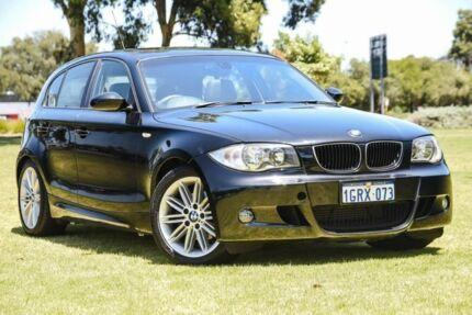 2009 BMW 120d E87 Steptronic Black 6 Speed Automatic Hatchback Burswood Victoria Park Area Preview