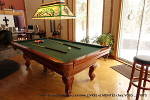 TABLE DE BILLIARD