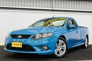 2010 Ford Falcon FG XR6 Ute Super Cab Blue 6 Speed Sports Automatic Utility