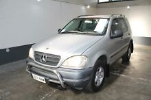 2000 Mercedes-Benz ML 270 CDI (4x4) Silver 5 Speed Auto Tipshift Wagon Pennington Charles Sturt Area Preview