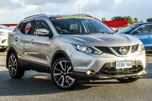 2015 Nissan Qashqai J11 TL Silver 1 Speed Constant Variable Wagon Cannington Canning Area Preview