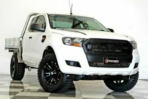 2017 Ford Ranger PX MkII MY17 Update XL 2.2 Hi-Rider (4x2) White 6 Speed Automatic Super Cab Chassis Burleigh Heads Gold Coast South Preview