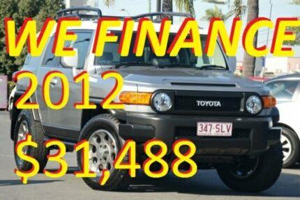 2012 Toyota FJ Cruiser GSJ15R Titanium Silver 5 Speed Automatic Wagon