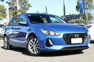 2017 Hyundai i30 PD MY18 Active Blue 6 Speed Sports Automatic Hatchback Condell Park Bankstown Area Preview
