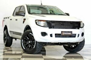 2015 Ford Ranger PX XL 3.2 (4x4) White 6 Speed Automatic Dual Cab Utility Burleigh Heads Gold Coast South Preview
