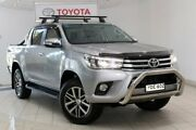 2015 Toyota Hilux GUN126R SR5 Double Cab Silver Sky 6 Speed Sports Automatic Utility Waterloo Inner Sydney Preview