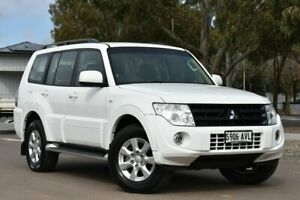 2013 Mitsubishi Pajero NW MY13 GLX-R White 5 Speed Manual Wagon St Marys Mitcham Area Preview