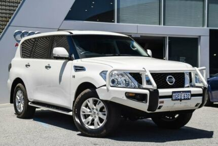 2015 Nissan Patrol Y62 TI White 7 Speed Sports Automatic Wagon Osborne Park Stirling Area Preview