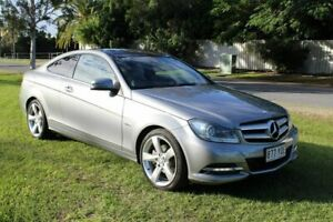 2012 Mercedes-Benz C250 CDI C204 MY13 BlueEFFICIENCY 7G-Tronic Silver 7 Speed Sports Automatic Coupe