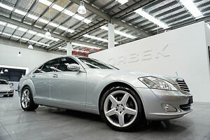 2009 Mercedes-Benz S350 221 09 Upgrade Silver 7 Speed Automatic G-Tronic Sedan Port Melbourne Port Phillip Preview