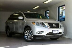 2013 Nissan Pathfinder R52 MY14 ST-L X-tronic 4WD Silver 1 Speed Constant Variable Wagon Melville Melville Area Preview