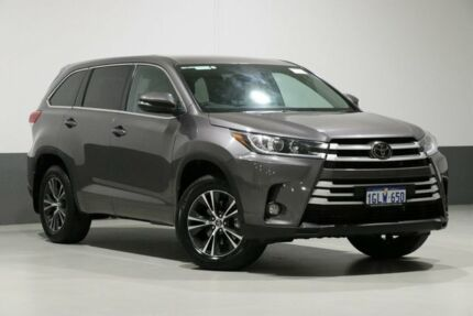 2018 Toyota Kluger GSU50R MY17 GX (4x2) Grey 8 Speed Automatic Wagon Bentley Canning Area Preview