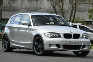 2009 BMW 123d E87 MY09 Silver 6 Speed Automatic Hatchback