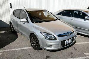 2012 Hyundai i30 FD MY11 SLX Silver 4 Speed Automatic Hatchback