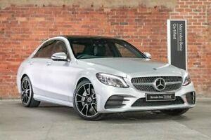 2019 Mercedes-Benz C-Class W205 800MY C300 9G-Tronic Silver 9 Speed Sports Automatic Sedan