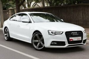 2015 Audi A5 8T MY16 Sportback S Tronic Quattro White 7 Speed Sports Automatic Dual Clutch Hatchback Parkside Unley Area Preview