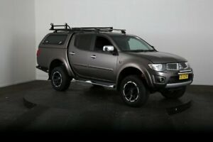 2013 Mitsubishi Triton MN MY14 GLX-R (4x4) Grey 5 Speed Automatic 4x4 Double Cab Utility McGraths Hill Hawkesbury Area Preview