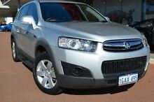 2012 Holden Captiva CG Series II 7 SX Silver 6 Speed Sports Automatic Wagon Gosnells Gosnells Area Preview