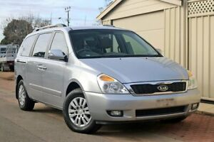 2010 Kia Grand Carnival VQ MY11 SI Silver 6 Speed Sports Automatic Wagon Glenelg Holdfast Bay Preview
