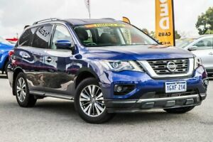 2018 Nissan Pathfinder R52 Series III MY19 ST X-tronic 2WD Caspian Blue 1 Speed Constant Variable