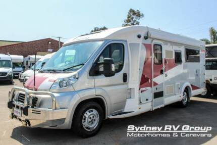 U3587 Avida Eyre With Rear High Bed & LESS THAN 9,000 KM's!!!