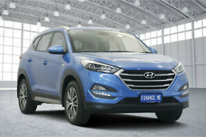 2017 Hyundai Tucson TL MY17 Active X 2WD Ara Blue 6 Speed Sports Automatic Wagon