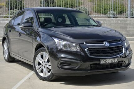 2015 Holden Cruze JH MY15 Equipe Black 6 Speed Automatic Sedan Lisarow Gosford Area Preview