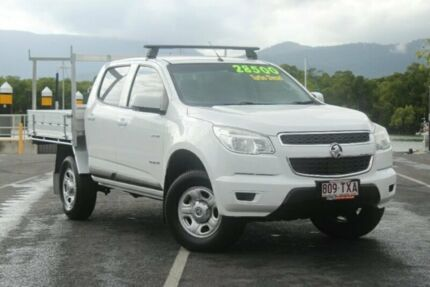 2014 Holden Colorado RG MY15 LS Crew Cab 4x2 White 6 Speed Sports Automatic Cab Chassis Portsmith Cairns City Preview