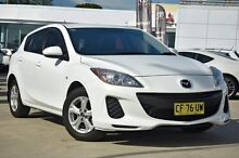 2013 Mazda 3  White Manual Hatchback Thornleigh Hornsby Area Preview