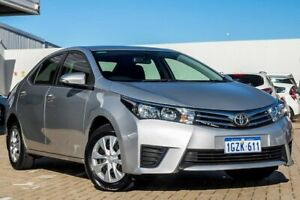 2015 Toyota Corolla ZRE172R Ascent S-CVT Silver 7 Speed Constant Variable Sedan Morley Bayswater Area Preview