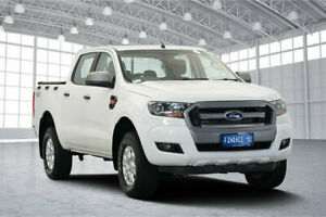 2016 Ford Ranger PX MkII XLS Double Cab White 6 Speed Sports Automatic Utility Victoria Park Victoria Park Area Preview