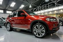 2009 BMW X5 E70 3.0SD Vermillion Red 6 Speed Steptronic Wagon Port Melbourne Port Phillip Preview