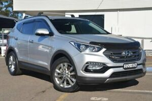 2016 Hyundai Santa Fe DM3 MY17 Elite Silver 6 Speed Sports Automatic Wagon
