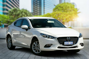 2018 Mazda 3 BN5278 Touring SKYACTIV-Drive White 6 Speed Sports Automatic Sedan Bayswater Bayswater Area Preview