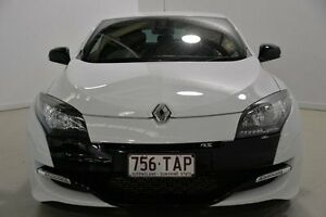 2012 Renault Megane III D95 R.S. 265 Cup White 6 Speed Manual Coupe Mansfield Brisbane South East Preview
