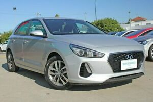 2017 Hyundai i30 PD Active Platinum Silver 6 Speed Auto Sequential Hatchback Victoria Park Victoria Park Area Preview