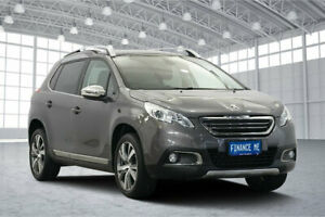 2016 Peugeot 2008 A94 Outdoor Grey 5 Speed Manual Wagon