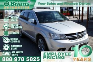 2014 Dodge Journey R/T - w/AWD, Leather, Command Start