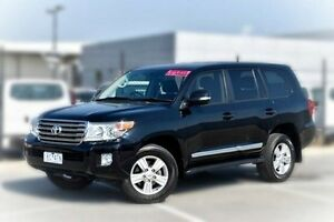 2013 Toyota Landcruiser VDJ200R MY13 Sahara Black 6 Speed Sports Automatic Wagon Pakenham Cardinia Area Preview