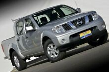 2012 Nissan Navara D40 S7 MY12 RX Silver 6 Speed Manual Utility Ferntree Gully Knox Area Preview